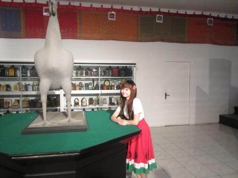 at MURI (Museum Rekor Indonesia-Jamu Jago). Berharap suatu saat saya dapat memecahkan salah satu rekor MURI. Hehe