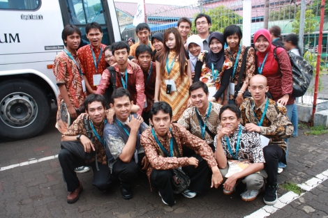 We are the Best One! Bersama teman-teman Beswan Djarum!